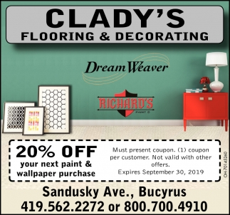 20% off your next paint & wallpaper purchase