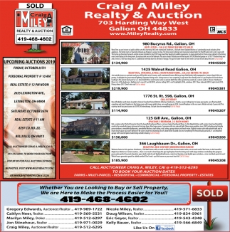 Complete Real Estate & Auction Services