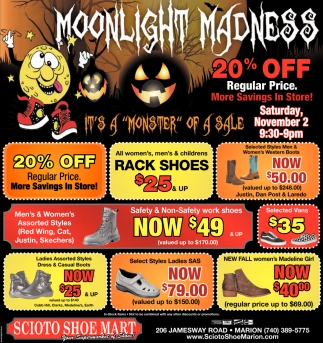 Moonlight Madness 20% Off