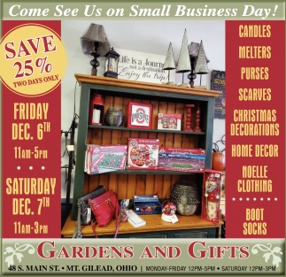 Come See Us on Small Business Day!