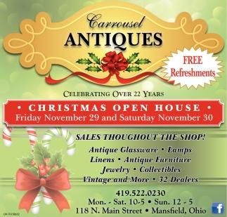 Christmas Open House - November 29 & 30