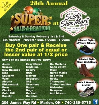 28th Annual Super Sale-A-Bration