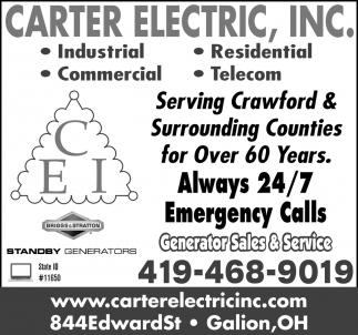 Generator Sales & Service