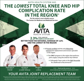Avita Joint Replacement Team