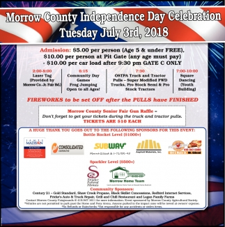 Morrow County Independence Day Celebration