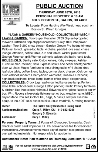 Lawn & Garden, Household, Collectibles