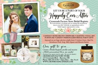 Crossroads Factory Store Bridal Registry