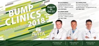 Bump Clinics Galion & Ontario 2018