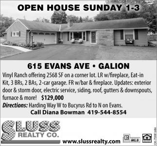 615 Evans Ave, Galion