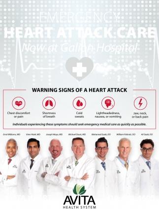 Heart Attack Care