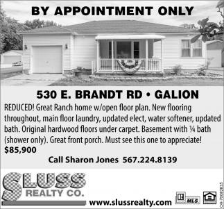 530 E. Brandt Rd. Galion