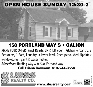 158 Portland Way S, Galion