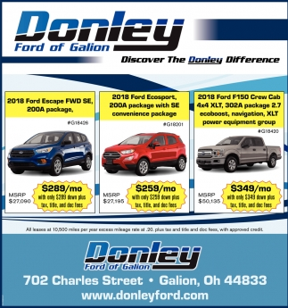 Discover The Donley Difference