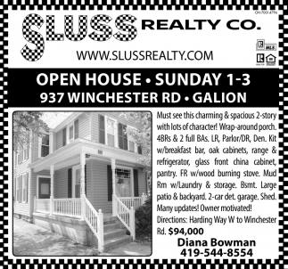 Open House, Galion