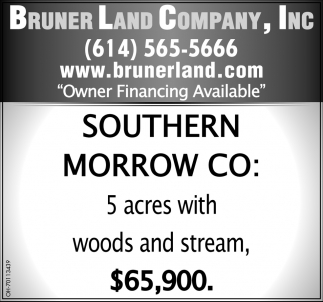 5 Acres with Woods and Stream