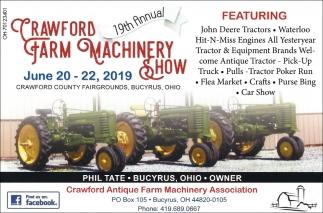 19th Annual Crawford Farm Machinery Show
