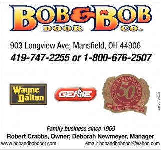 Robert Crabs, Owner - Deborah Newmeter, Manager