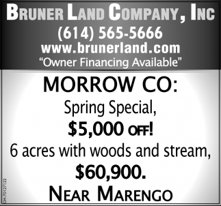 6 Acres with Woods and Stream