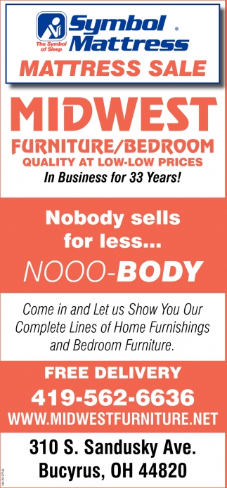 Complete Lines of home Furnishings and Bedroom Furniture