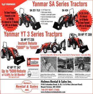Yanmar Serie Tractors